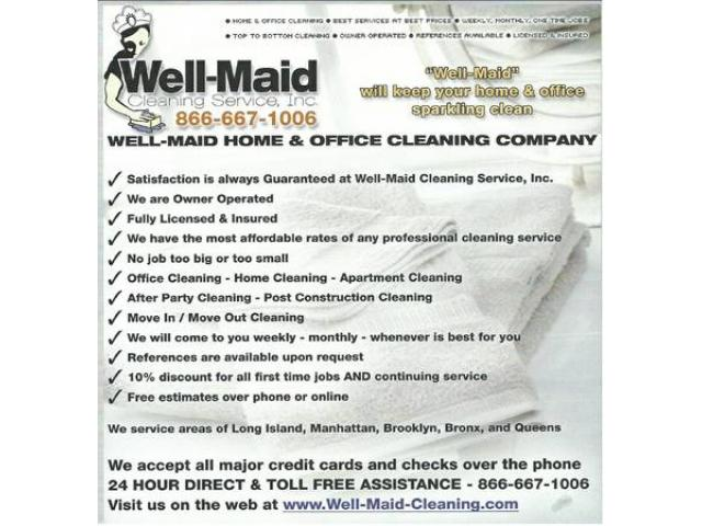 Best Home U0026 Office Cleaning Service (NYC, New York)