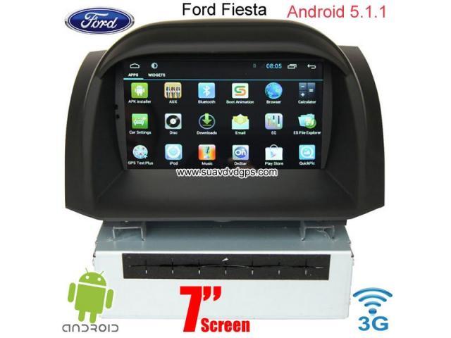 Ford Fiesta Android Car Gps Radio Wifi 3g Dvd Apple