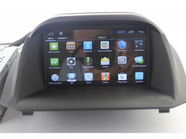 Ford Fiesta Android Car Gps Radio Wifi 3g Dvd Apple