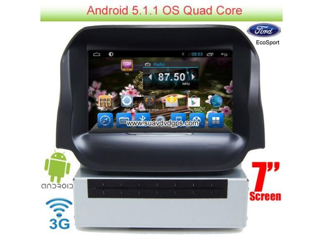 Ford Ecosport Android Car Gps Radio Wifi 3g Dvd Apple
