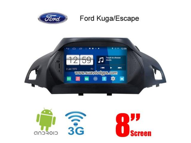 ford escape kuga android car radio wifi 3g dvd gps dab new york ads. Black Bedroom Furniture Sets. Home Design Ideas