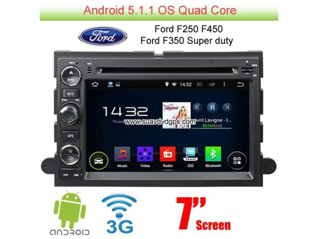 Ford F250 F350 F450 Super Duty Android Car Radio Wifi 3g Dvd Gps Rhnewyorkads: Ford F450 Radio At Gmaili.net