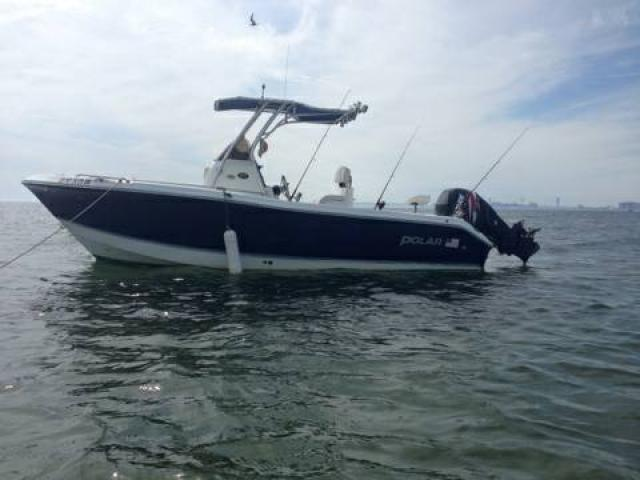 Fishing boat 2003 polar 2100cc t top for sale 19995 for Brooklyn fishing boat