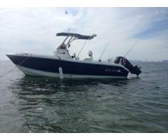 1998 proline 201 walk around boat for sale 10000 bay for Brooklyn fishing boat
