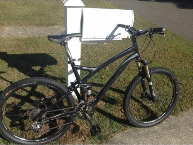 2009 specialized FRS stumpjumper comp bicycle for sale