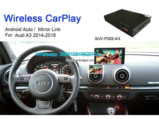 Audi A3 Wireless Apple CarPlay Box Original Screen Update ...