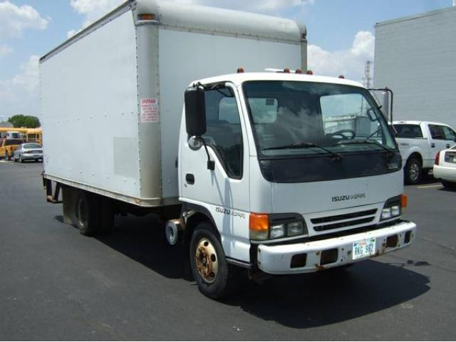 2000 ISUZU NPR DIESEL BOX TRUCK 16 FOOT WITH LIFT GATE ONLY 79K MILES FOR  SALE