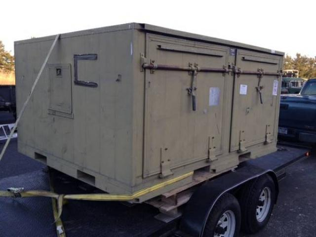 STORAGE SHIPPING CONTAINER FROM MILITARY SURPLUS FOR SALE 1250