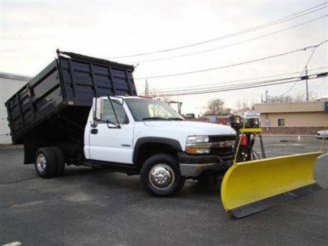 2002 chevrolet silverado 3500 10ft landscape dump truck w plow for sale 15000 island park. Black Bedroom Furniture Sets. Home Design Ideas