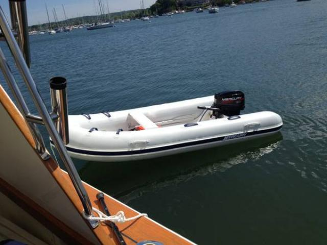 2013 mercury ocean runner 350 inflatable boat for sale w