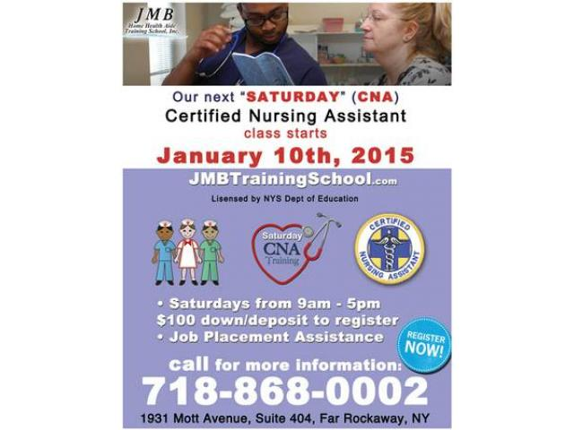 Our Next Saturday Cna Training Class Starts On January 10th 2015