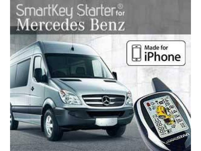 Mercedes benz sprinter remote start alarm installation for Remote starter for mercedes benz