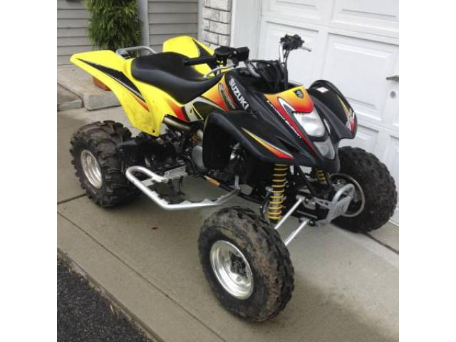 suzuki ltz 400 limited edition atv for sale - $2700 (staten island
