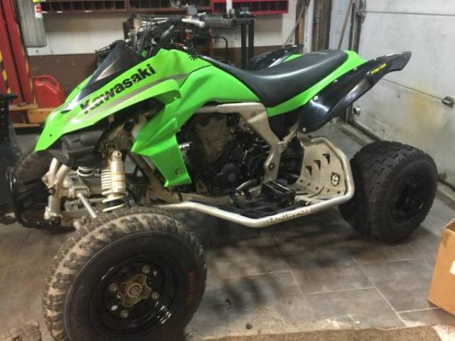 2008 Kawasaki Kfx 450r fuel injected ATV Clean for Sale - $2999 ...
