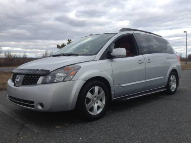 b5eec487e9 2004 NISSAN QUEST SE MINI-VAN FOR SALE FULLY LOADED NAVIGATION LEATHER  SEATS -  6300