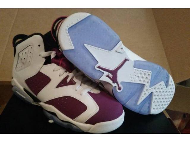 hot sale online 137a2 6922e Air Jordan 6 Retro GS  Bright Grape  Size  6.5   7 for Sale
