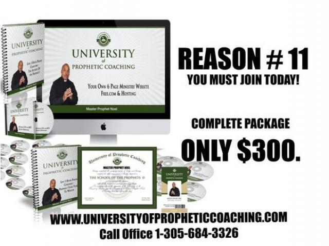 University Of Prophetic Coaching Prophetic Certification Nyc