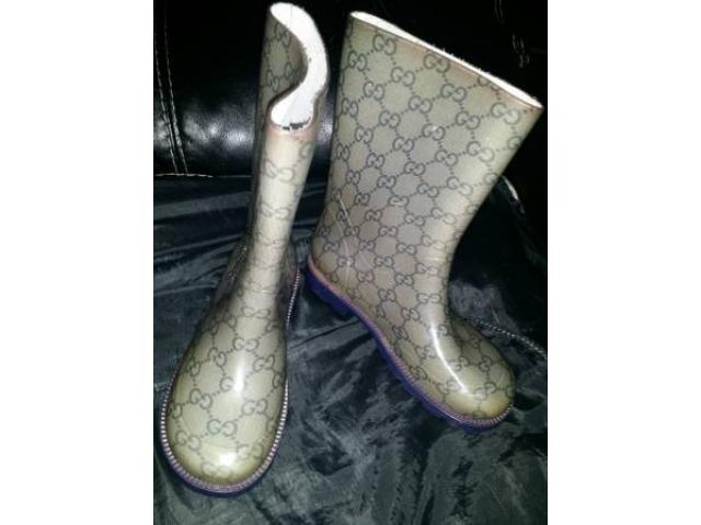 KIDS AUTHENTIC GUCCI RAIN BOOTS for Sale - $65 (bronx, NYC) New ...