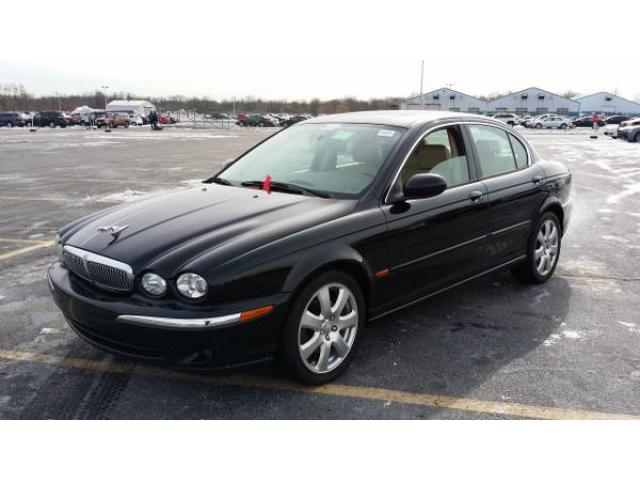 JAGUAR XTYPE SEDAN BLACK FOR SALE ONE OWNER ALL WHEEL DRIVE - All wheel drive jaguar