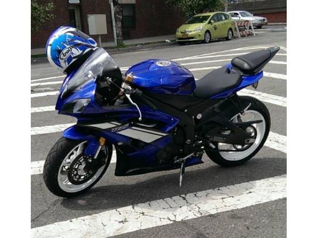 2012 blue yamaha r6 bike for sale 7000 nyc new york for 2012 yamaha r6 for sale