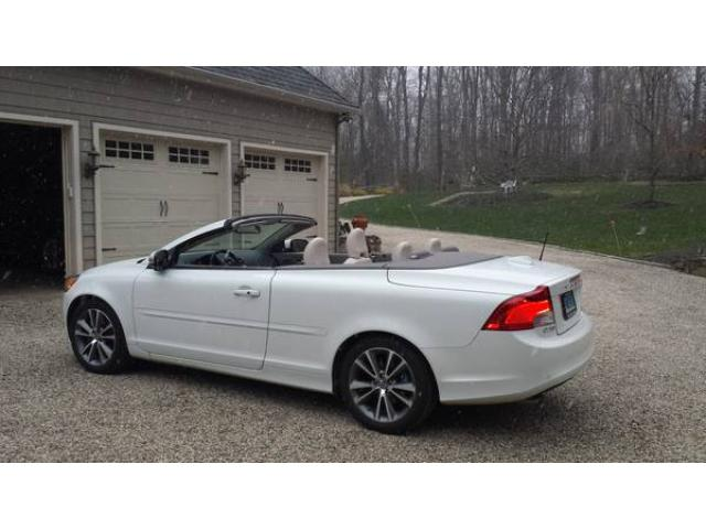 2012 volvo c70 t5 convertible for sale factory warranty. Black Bedroom Furniture Sets. Home Design Ideas