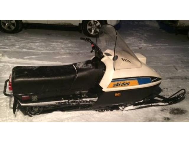 1987 Ski Doo 250 Snowmobile For Sale