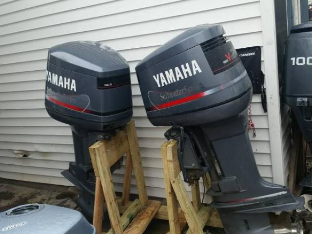 twin 200 hp yamaha outboard motor engine saltwater series