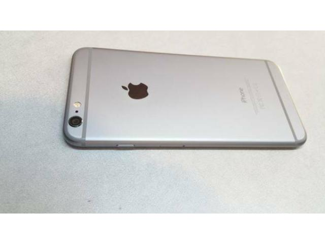 apple iphone 6 plus silver 64gb at t clean for sale gently. Black Bedroom Furniture Sets. Home Design Ideas