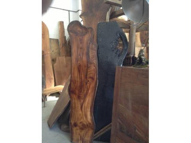 Custom Art FurnitureTable Tops Slab Wood Bar Tops For Sale   (Chelsea, NYC)