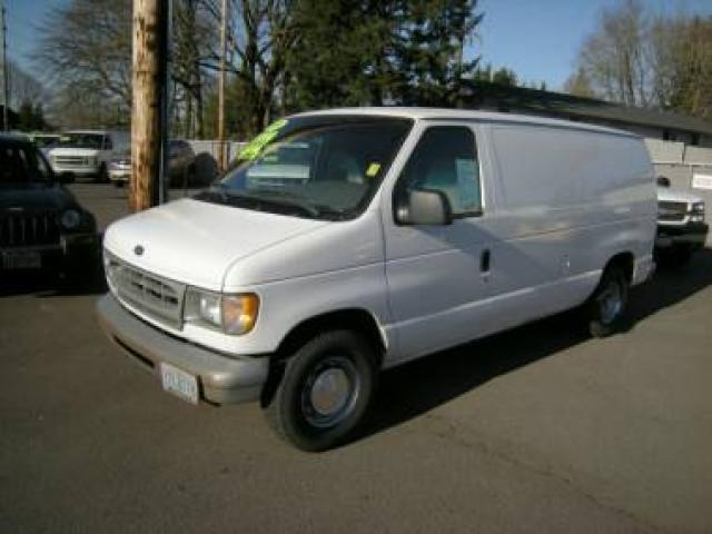 2001 ford e150 super duty cargo van for sale pw pl sliding. Black Bedroom Furniture Sets. Home Design Ideas