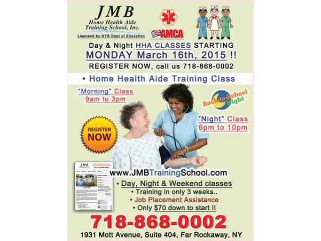 Home Health Aide Classes In Queens New York
