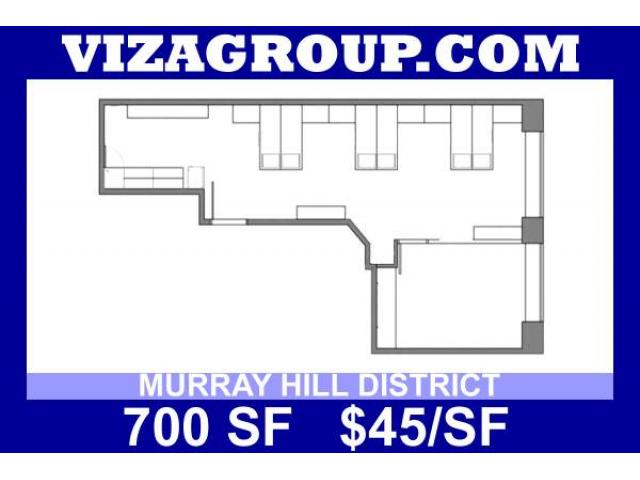 2625 700ft2 murray hill office space no broker fee for Broker fee nyc