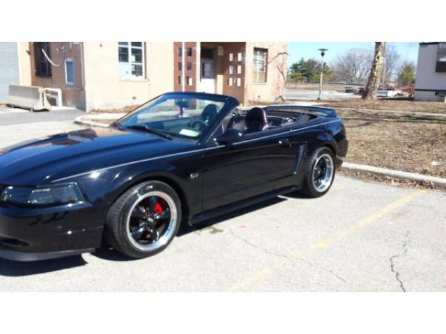 2000 ford mustang gt convertible for sale 6200 forest. Black Bedroom Furniture Sets. Home Design Ideas