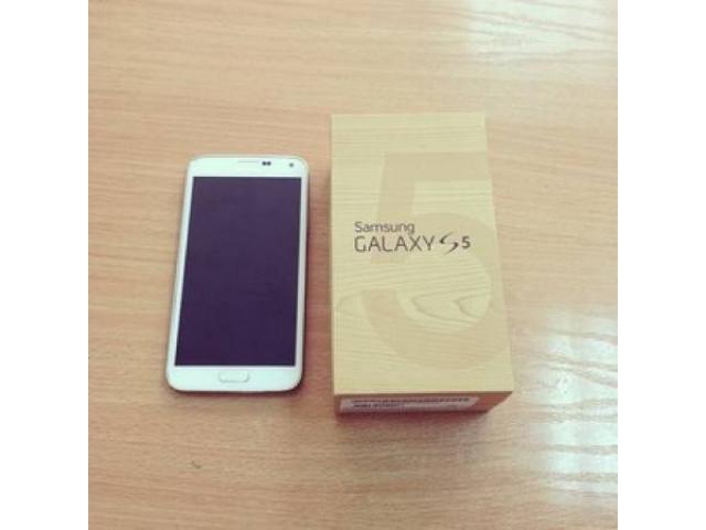 samsung galaxy s5 white box. samsung galaxy s5 white 16gb new for sale - $350 (midtown, nyc) box x