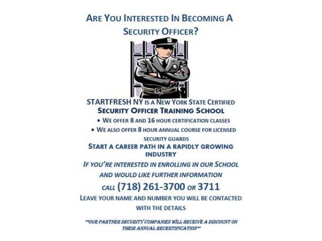 Startfresh Security Training Nyc New York City New York Ads