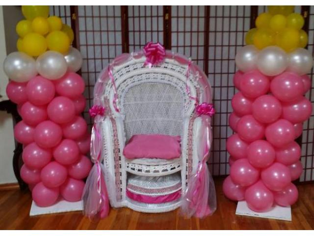 Baby Shower chairs/ centerpieces for Sale  Queens/ Long Island, NY