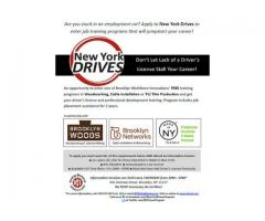 FREE Training & Driver's Ed leading to Careers in Cabling, Woodworking - (brooklyn, NYC) New ...