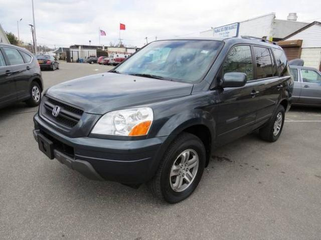 2003 honda pilot ex l mid size suv for sale leather 3 row seat clean title 6600 nyc new. Black Bedroom Furniture Sets. Home Design Ideas