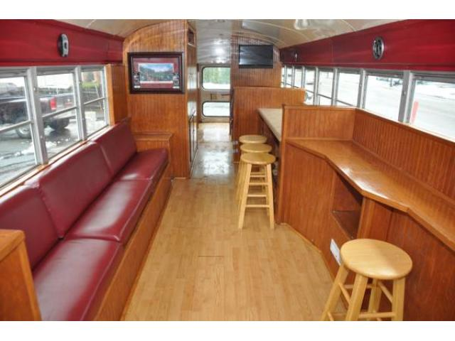 1986 Ford Blue Bird Tailgate Party Bus for Sale - $8500