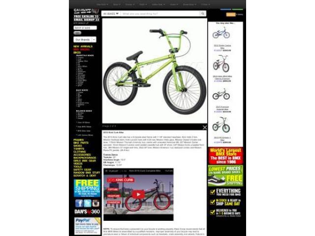 kink curb bike BMX 20 for sale - $175 (bayside, NY) Bayside - New ...
