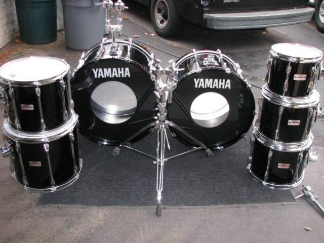 Yamaha recording custom drums for sale 2600 white for 12x10 floor register
