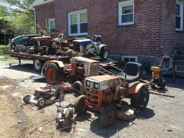 Vintage Garden Tractors And Mowers John Deere Case Patio Sears Baird For Sale Yorktown Ny