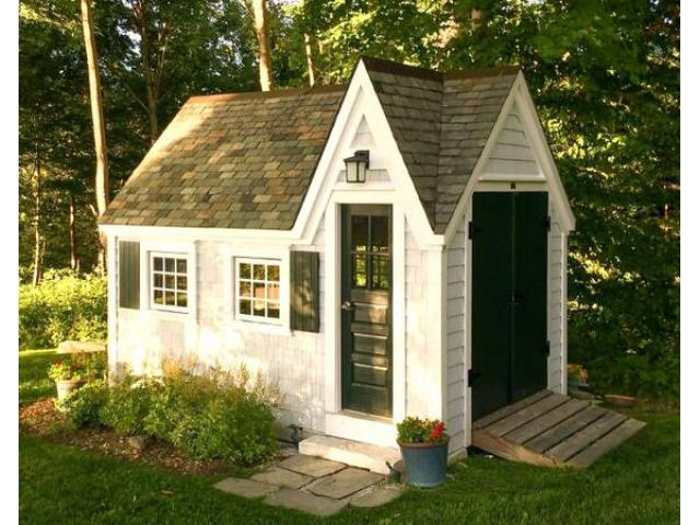 handcrafted garden sheds for sale start at only 1099 free shipping vermont - Garden Sheds Ny