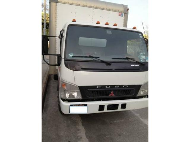 2005 Mitsubishi Fuso Box Truck For Sale By Owner Diesel For Sale