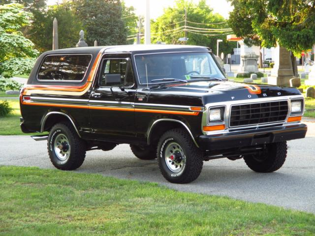 dollar us 1979 ford bronco ranger xlt 351 automatic new york. Cars Review. Best American Auto & Cars Review