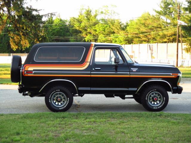 1979 ford bronco ranger xlt new york new york ads. Black Bedroom Furniture Sets. Home Design Ideas