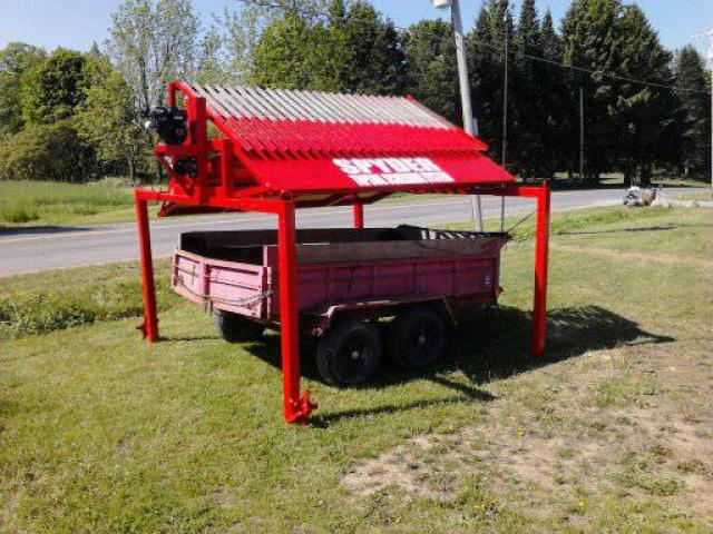 Drive under topsoil screener for sale 10500 upstate ny for Soil for sale