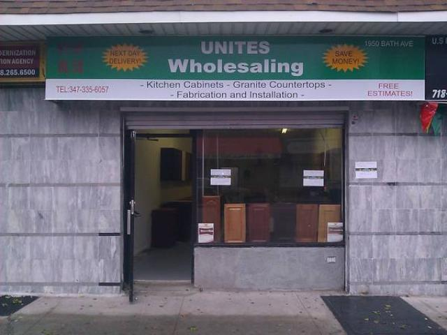 WHOLESALE KITCHEN CABINETS GRANITE COUNTERTOPS   (1950 Bath Ave, Brooklyn,  NY 11214)